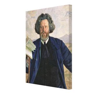 Retrato de Maximiliano Voloshin 1924 Lona Estirada Galerías