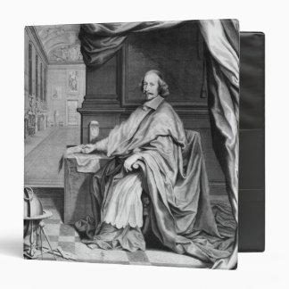 """Retrato de Mazarin cardinal en su palacio Carpeta 1 1/2"""""""