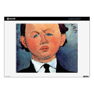Retrato de Mechan de Amedeo Modigliani Skins Para 35,6cm Portátiles