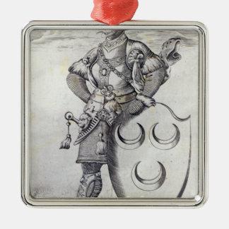 Retrato de Mehmed II Ornamentos De Navidad