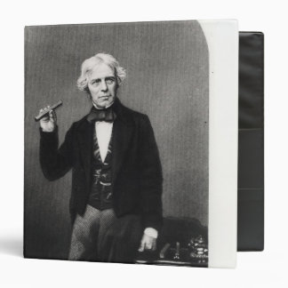 "Retrato de Michael Faraday Carpeta 1 1/2"""