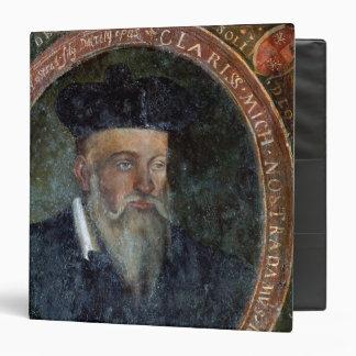 "Retrato de Miguel de Nostradame Carpeta 1 1/2"""