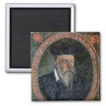 Retrato de Miguel de Nostradame Imán Cuadrado