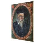 Retrato de Miguel de Nostradame Impresión En Lona