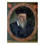 Retrato de Miguel de Nostradame Postales