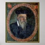 Retrato de Miguel de Nostradame Póster