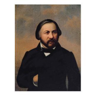 Retrato de Mikhail Ivanovich Glinka, 1850s Postales