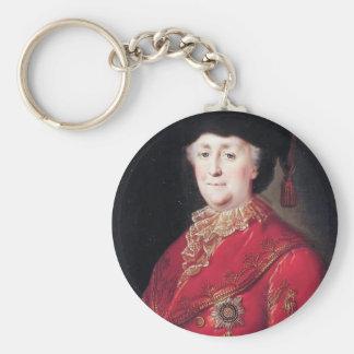 Retrato de Mikhail Shibanov- de la emperatriz Cath Llavero Personalizado