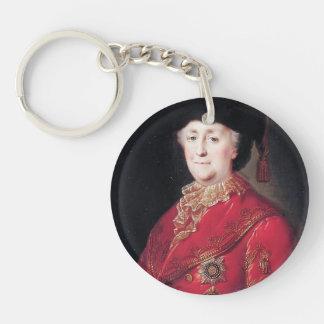 Retrato de Mikhail Shibanov- de la emperatriz Cath Llavero