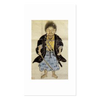 Retrato de Miyamoto Musashi como muchacho, período Tarjetas De Visita