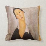 Retrato de Modigliani Amedeo Almohadas