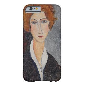 Retrato de Modigliani Amedeo Funda De iPhone 6 Slim