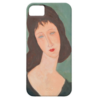 Retrato de Modigliani Amedeo iPhone 5 Carcasa