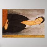 Retrato de Modigliani Amedeo Posters