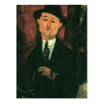 Retrato de Modigliani Amedeo Tarjetas Postales