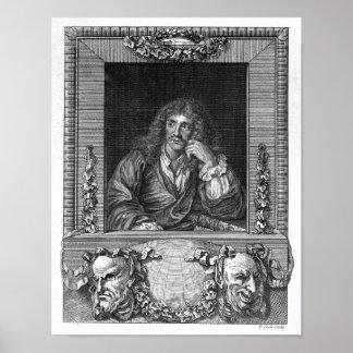 Retrato de Moliere Póster