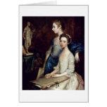 Retrato de Molly y de Pegy de Thomas Gainsborough Felicitacion