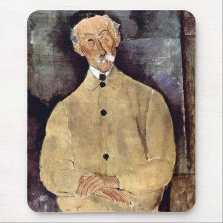 Retrato de Monsieur Lepoutre de Amedeo Modigliani Tapetes De Ratón
