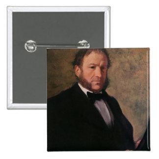 Retrato de Monsieur Ruelle, 1861 Pin Cuadrada 5 Cm