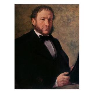 Retrato de Monsieur Ruelle, 1861 Tarjeta Postal