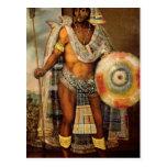 Retrato de Montezuma II Tarjetas Postales