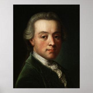 Retrato de Mozart Póster