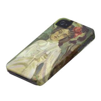 Retrato de Musatov- del vencedor de Nadezhda Stani iPhone 4 Carcasas