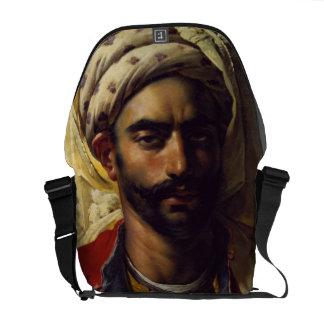 Retrato de Mustapha Bolsas De Mensajeria
