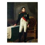 Retrato de Napoleon Bonaparte 1809 Postal