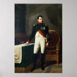 Retrato de Napoleon Bonaparte 1809 Posters