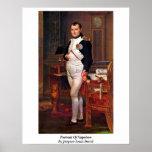 Retrato de Napoleon de Jacques-Louis David Impresiones