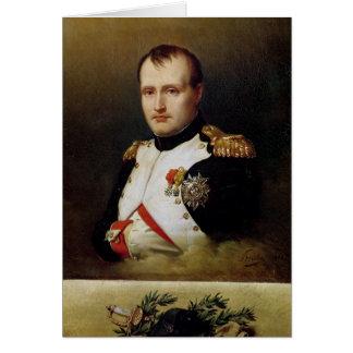 Retrato de Napoleon I 1812 Tarjeta De Felicitación