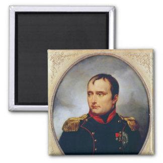 Retrato de Napoleon I, 1815 Imán Cuadrado