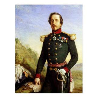 Retrato de Napoleon III 1852 Tarjeta Postal