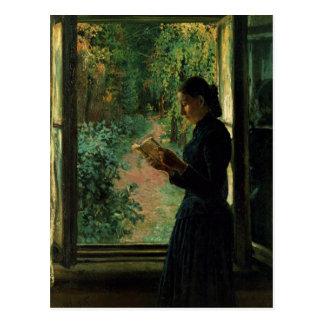 Retrato de Natalia Petrunkevitsin, 1893 Tarjeta Postal