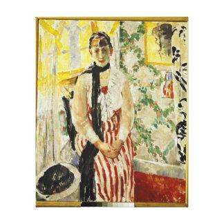 Retrato de Nel Wouters 1912 Lona Envuelta Para Galerias