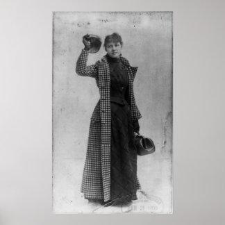 Retrato de Nellie Bly Póster