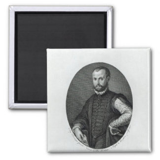 Retrato de Niccolo Machiavelli Imán Cuadrado