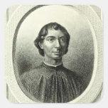 Retrato de Niccolo Machiavelli Colcomanias Cuadradas