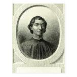 Retrato de Niccolo Machiavelli Postales