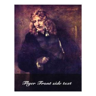 """Retrato de Nicholas Bruyningh de Rembrandt Folleto 8.5"""" X 11"""""""