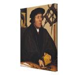 Retrato de Nicholas Kratzer 1528 Lona Estirada Galerias