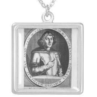 Retrato de Nicolás Copernicus Colgante Cuadrado
