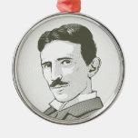 Retrato de Nikola Tesla Adornos