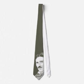 Retrato de Nikola Tesla Corbatas Personalizadas