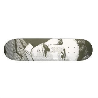 """Retrato de Nikola Tesla Patineta 7 1/4"""""""
