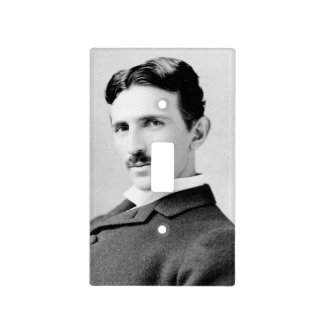Retrato de Nikola Tesla Tapas Para Interruptores