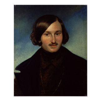 Retrato de Nikolay Gogol, 1841 Impresiones