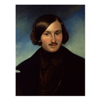 Retrato de Nikolay Gogol, 1841 Postales