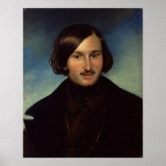 Retrato de Nikolay Gogol, 1841 Póster